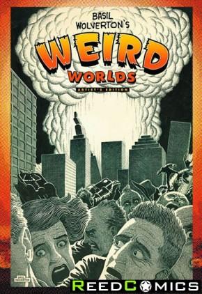 Basil Wolverton Weird Worlds Artist Edition Hardcover