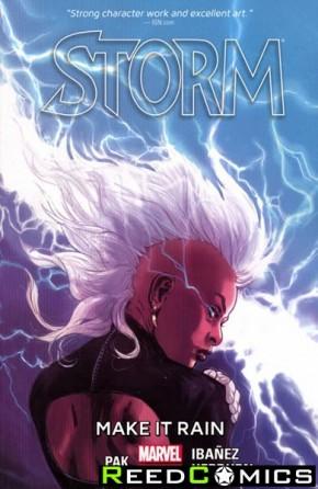 Storm Volume 1 Make It Rain Graphic Novel
