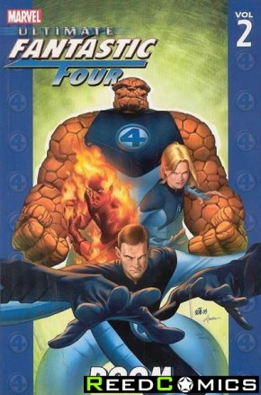 Ultimate Fantastic Four Volume 2 Doom Graphic Novel