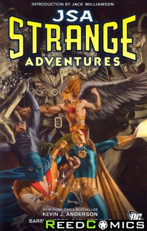 Justice Society of America Strange Adventures Graphic Novel