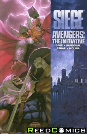 Siege Avengers The Initiative Graphic Novel