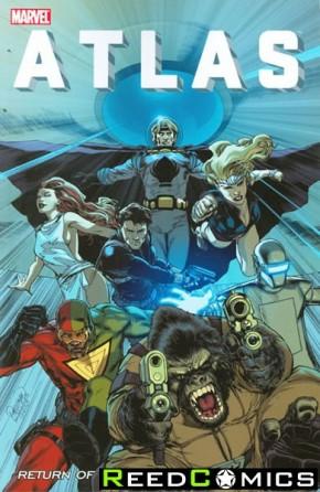 Atlas Return of Three Dimensional Man Graphic Novel