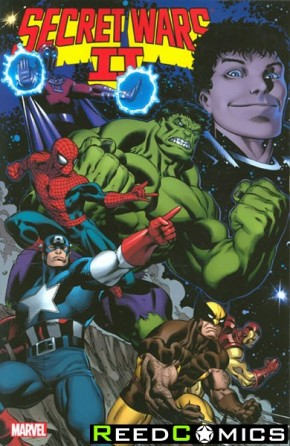 Secret Wars 2 Graphic Novel
