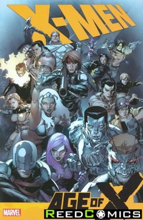 X-Men Age of X Graphic Novel