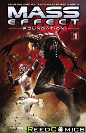 Mass Effect Foundation Volume 1 Graphic Novel