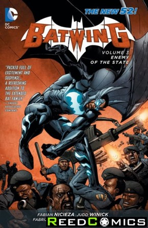 Batwing Volume 3 Enemy of the State Graphic Novel