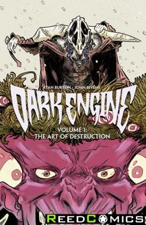 Dark Engine Volume 1 Art of Destruction Graphic Novel