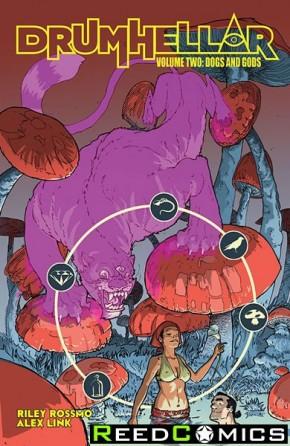 Drumhellar Volume 2 Dogs and Gods Graphic Novel