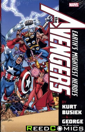 Avengers by Busiek and Perez Omnibus Volume 1 Hardcover