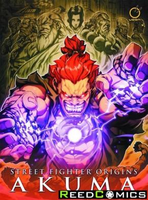 Street Fighter Origins Akuma Hardcover