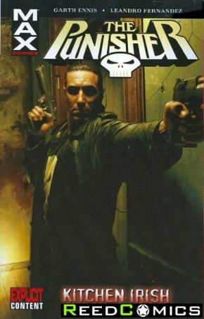 Punisher MAX Volume 2 Kitchen Irish Graphic Novel