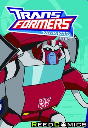 Transformers Animated Cartoon Volume 6 Graphic Novel
