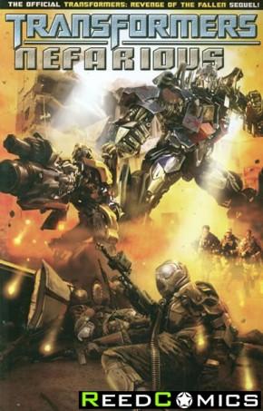 Transformers Spotlight Nefarious Graphic Novel