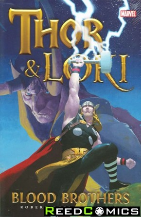 Thor and Loki Blood Brothers Hardcover