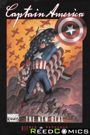 Captain America New Deal Premiere Hardcover