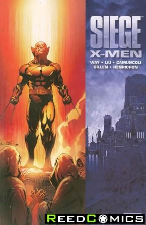 Siege X-Men Graphic Novel