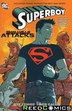 Superboy Smallville Attacks Graphic Novel