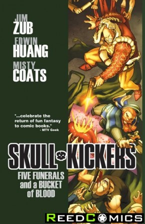 Skullkickers Volume 2 Five Funerals and a Bucket of Blood Graphic Novel