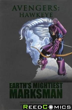 Avengers Hawkeye Marksman Hardcover