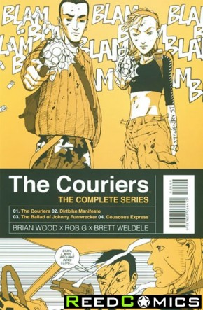 The Couriers Complete Collection Graphic Novel