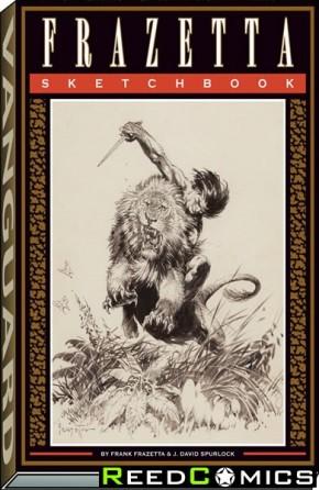 Frank Frazetta Sketchbook Softcover