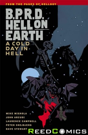 BPRD Hell on Earth Volume 7 A Cold Day in Hell Graphic Novel