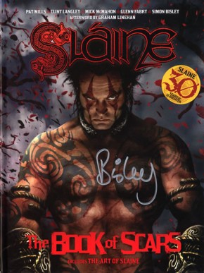 Slaine The Book of Scars 30th Anniversary Hardcover