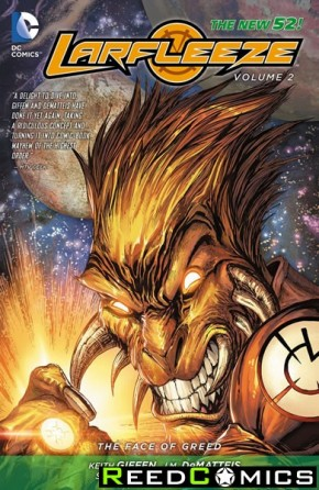 Larfleeze Volume 2 The Face of Greed Graphic Novel