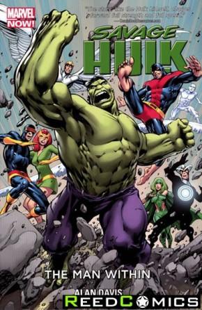 Savage Hulk Volume 1 Man Within Graphic Novel