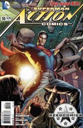 Action Comics Volume 2 #10 (Bryan Hitch Incentive Variant Cover)