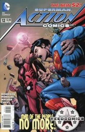 Action Comics Volume 2 #12