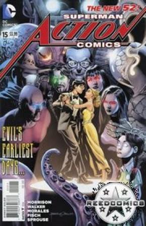 Action Comics Volume 2 #15