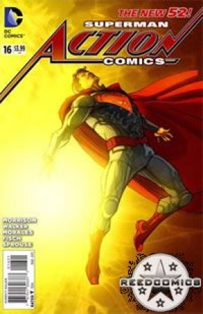 Action Comics Volume 2 #16 (Pascual Ferry Variant Cover)