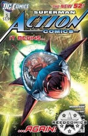 Action Comics Volume 2 #5