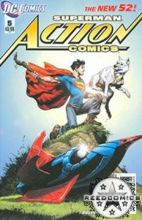 Action Comics Volume 2 #5 (Rags Morales Incentive Variant Cover)