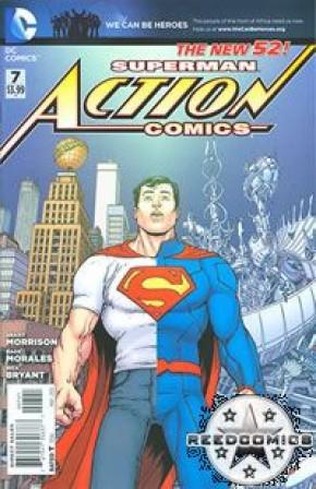 Action Comics Volume 2 #7 (Greg Capullo Incentive Variant Cover)
