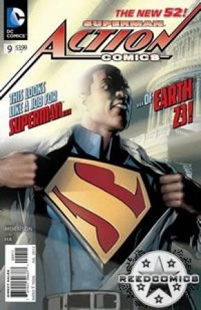 Action Comics Volume 2 #9