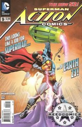 Action Comics Volume 2 #9 (Rags Morales Incentive Variant Cover)