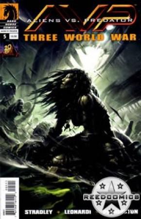 Alien Vs Predator Three World War #5