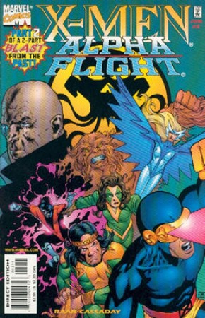 X-Men Alpha Flight #2