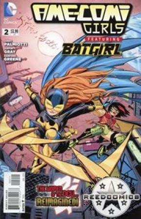 Ame Comi Girls #2 Featuring Batgirl