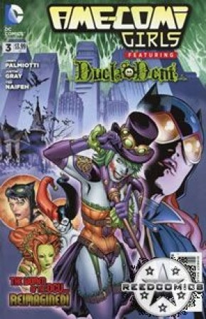 Ame Comi Girls #3 Featuring Duela Dent