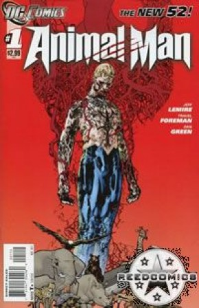 Animal Man Volume 2 #1 (2nd Print)