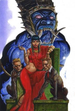 Simon Bisley Original Comic Art - Hellblazer #262 Cover Art
