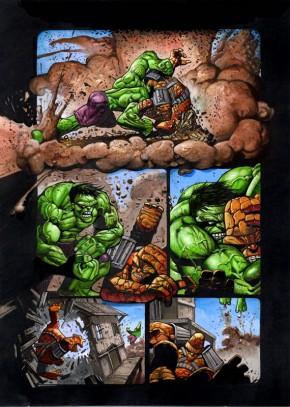 Simon Bisley Original Art Incredible Hulk #620 Page 2