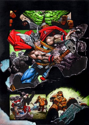 Simon Bisley Original Art Incredible Hulk #620 Page 3
