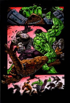 Simon Bisley Original Art Incredible Hulk #620 Page 5