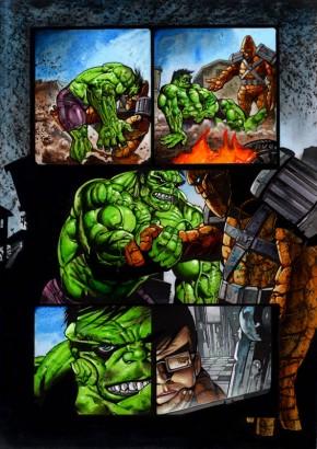 Simon Bisley Original Art Incredible Hulk #620 Page 8
