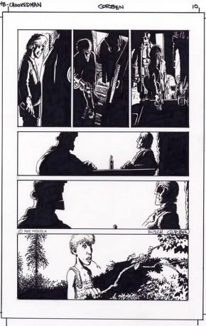 Richard Corben Original Art - Hellboy The Crooked Man #1 Page 10