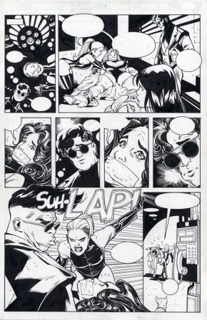 ADAM HUGHES ORIGINAL COMIC ART - PENTHOUSE COMIX PAGE Comic Art